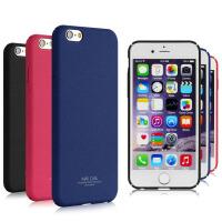【包邮】香港 IMAK 苹果Apple iPhone6/6S 手机壳 保护壳 手机套 保护套 硬壳 后壳 手机保护壳套 牛仔II代(含钢化玻璃贴)