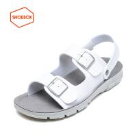 SHOEBOX/鞋柜夏季新款沙滩鞋两穿凉拖鞋休闲凉鞋男凉鞋