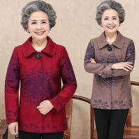 中年妇女春秋小西装40-50岁妈妈装大码上衣中老年女装毛呢外套冬