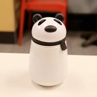 迷你可爱小号卡通熊猫水杯304不锈钢保温杯大肚杯儿童学生便携女 1号 250ml 早尚熊猫保温杯 BW-40-5B