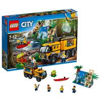 LEGO乐高城市系列丛林移动实验室60160