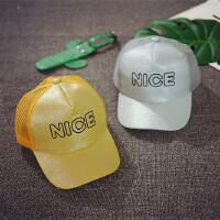 韩版儿童棒球帽春夏宝宝帽子遮阳帽潮中大童小孩帽男童女童帽防晒