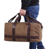 大容量手提旅行包短途旅游包出差行李包男旅行袋行李袋帆布健身包 (加款)
