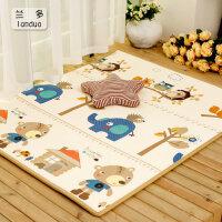男孩防护益智早教婴儿童宝宝XPE爬行垫加厚2CM客厅环保垫爬爬垫泡沫地垫韩国游戏毯