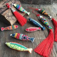 手工diy刺绣民族风自制礼品创意胸针车挂钥匙包配饰材料包