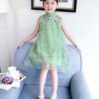 夏装公主裙儿童春夏天洋气连衣裙子女童装夏季休闲网纱裙
