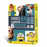 正版高清电影 神偷奶爸/小黄人/爱宠大机密 动画合集儿童DVD光盘