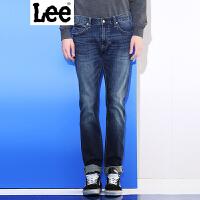 Lee【新款】男士牛仔裤 新年系列2017新品鸡年水洗修身牛仔裤男 709版型 低腰修身小直脚 L11709H462SW