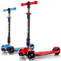 可升降3-6�q小孩滑滑�加��折�B�和�滑板�踏板�四��W光
