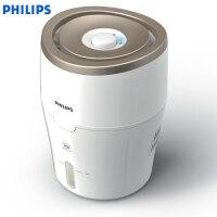 飞利浦(Philips)HU4811/00加湿器 上加水 纳米无雾恒湿 静音办公室卧室家用加湿 白色香槟色