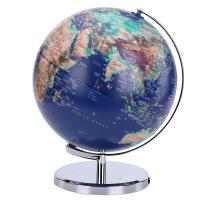 32cm立体浮雕地球仪学生用装饰摆件创意台灯儿童礼物