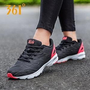 361女鞋运动鞋新款361度官方正品轻便夜光跑步鞋休闲鞋女