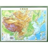 中国地形 成都地图出版社