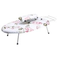 安枫台式折叠烫衣板熨衣板家用熨衣服架熨斗架床上笔记本电脑桌 简易版 不带配件 布套颜色随机