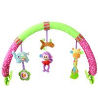 床夹挂铃宝宝婴儿推车挂件音乐床夹安全座椅夹子车挂0-1岁玩具