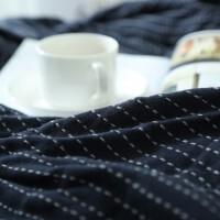 全棉日式纱布毛巾被单人纯色条纹双人毛巾盖毯夏季午睡毯 200cmx230cm 双人透气纯棉纱布【送毛巾】