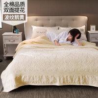 老式毛巾被纯棉毯子单人双人全棉毛毯夏季薄款纱布被空调毯毛巾毯 【送方巾】 200cmX230cm 纯棉