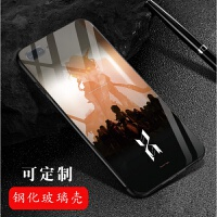 明日方舟手机壳荣耀内有图库 玻璃iPhone华为小米红vivoOPPO 2 请备注手机型号