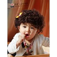 宝宝拍照假发套 婴儿童假发 时尚假发 摄影拍照假发儿帅气短发