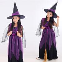 六一儿童节服装女演出服男童幼儿巫婆服饰小女巫魔女衣服女童套装