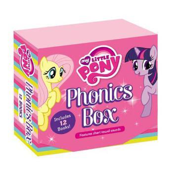 【预订】My Little Pony: Phonics Box 预订商品,需要1-3个月发货,非质量问题不接受退换货。