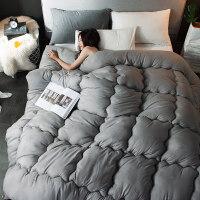 被子冬被加厚保暖被芯双人冬天棉被学生空调被春秋被褥 180x220cm 5斤