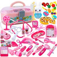 女孩3--6周岁打针小孩益智儿童小医生玩具套装宝宝医疗工具箱