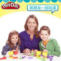 培乐多彩泥橡皮泥8色套装粘土儿童男孩女孩无毒手工玩具模具工具