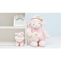 羊抱枕小羊毛绒玩具可爱布娃娃宝宝玩偶公仔小孩生日礼物
