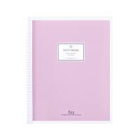 广博(GuangBo) 升级款紫色GBH16833 40张B5小清新活页记事本子/日记本/课堂笔记本/含分隔页 内芯可