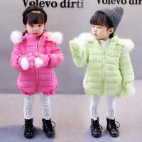 女童新款冬季韩版女宝宝加厚棉袄女孩冬装外套女宝棉衣保暖潮
