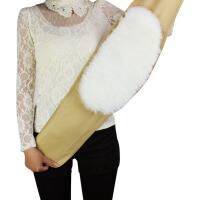 羊毛护腰带冬季保暖羊绒加厚男女老年人护腰暖宫护胃 羊毛一体护肚骑行保暖护具