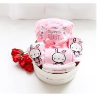 刚出生婴儿衣服纯棉套装新生儿礼盒春秋冬季0-3个月6初生宝宝用品