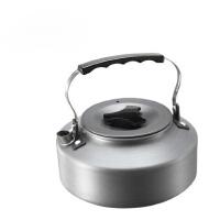 户外烧水壶野外露营烧水壶茶具 烧烤炉加热1L水壶咖啡壶茶壶野营水具