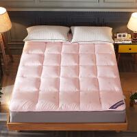 秋冬加厚羽丝绒软床垫防滑榻榻米床褥子1.5双人床垫被1.8m床折叠