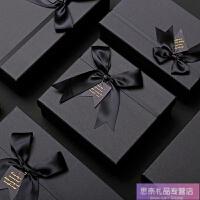 长方形礼品盒大号正方形礼物包装盒子生日回礼伴手礼盒*礼物盒 +LED串灯