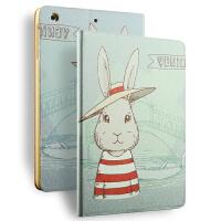 苹果ipad mini mini2保护套卡通ipad mini3保护壳迷你1平板套支架 mini4休眠皮套 卡通支架