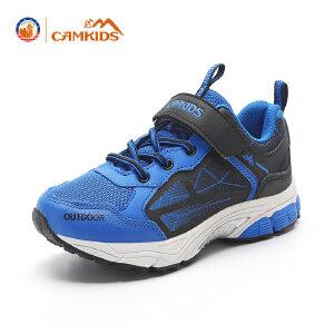 CAMKIDS儿童运动鞋 男跑步鞋女大童休闲鞋2017秋季新款透气