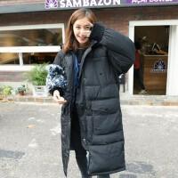 韩国冬季大码女装胖mm宽松连帽加厚棉衣女中长款显瘦百搭外套