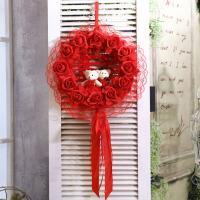 结婚庆用品创意个性喜字贴拉花婚礼浪漫挂件吊饰卧室婚房布置装饰 单个价格