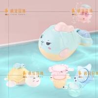 宝宝戏水洗澡玩具套装沙滩婴幼儿童沐浴游泳喷水玩具0-1-3岁