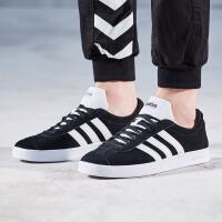 adidas阿迪达斯NEO男子板鞋2018新款休闲运动鞋DA9853 ZT