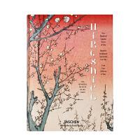 【现货正版包邮】Hiroshige 日本浮世绘 歌川广重 安藤广重 TASCHEN 英文原版图书 画集画册 One Hundred