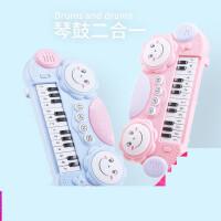 儿童电子琴宝宝早教音乐玩具小钢琴0-1-3岁男女孩婴幼儿益智礼物u3d