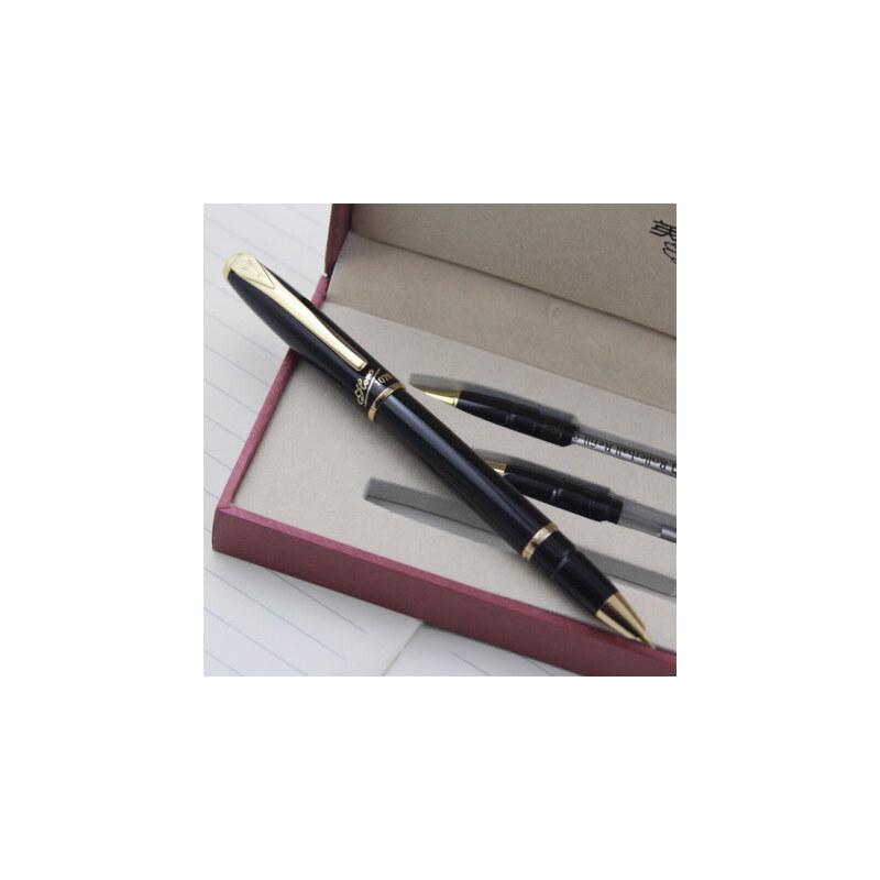 英雄钢笔1079特细礼品墨水笔 钢笔+美工书法练习+宝珠笔组合套装