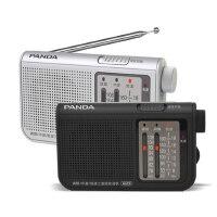 熊猫 6123 便携式袖珍全波段半导体指针式收音机老人 老人收音机