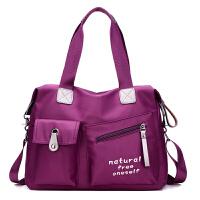 新款时尚女包大容量日韩女士旅行包尼龙牛津布包单肩手提斜挎大包