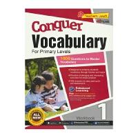SAP Conquer Vocabulary 1 一年级英语词汇练习册 攻克词汇系列 7岁 英文原版进口 新加坡小学英