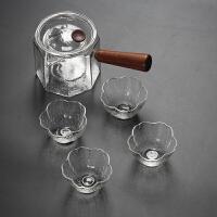 耐热玻璃茶壶泡茶壶花茶壶侧把煮茶壶器普洱小青柑泡茶器功夫茶具