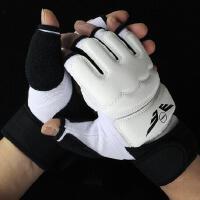 PU半指拳击手套散打拳套男女格斗训练沙袋跆拳道沙包护手儿童成人